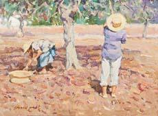cuadro-chico-prats-ibiza-payeses-en-el-campo-trabajando