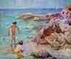 cuadro-chico-prats-ninos-en-el-mar